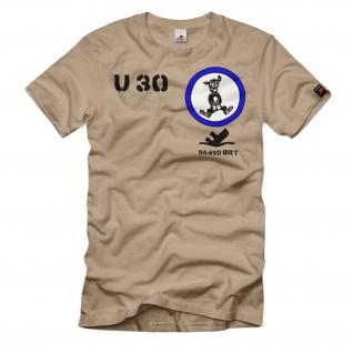 U-Boot 30 M-05 559 Budeswehr Bw Typ Vll A BRT deutsche see T Shirt #32582