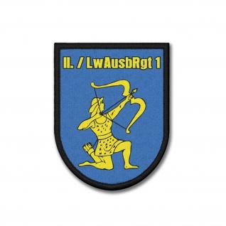 Patch 2 LwAusbRgt 1 Luftwaffenausbildungsregiment Deutsche 9x7cm #37043
