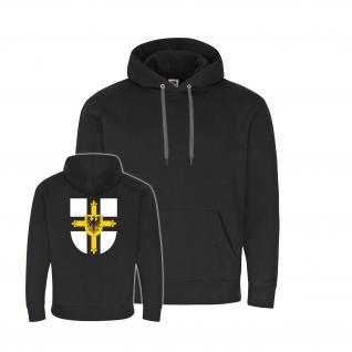 Hoodie Deutscher Orden Kreuz Adler Ritterorden Fahne Wappen Ritter #34530