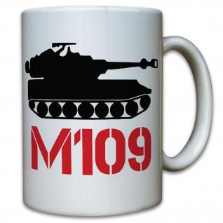 M109 Haubitze-Bundeswehr Panzer Artillerie- Tasse Kaffee Becher #11084