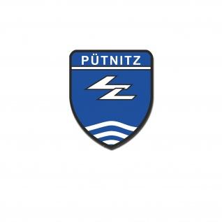 Aufkleber/Sticker Flugzeugführerschule Pütznitz 10x9 cm #A4755