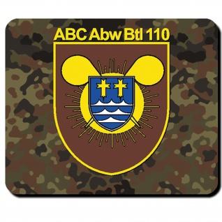ABC Abw Btl 110 Abwehr Bataillon Bundeswehr Bund Bw Abzeichen - Mauspad #11078