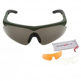 Tactical Schutzbrille Raptor SCHWARZ Sportbrille Hobby austauschbar #17824