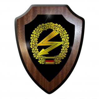 Wappenschild/Wandschild - Fernmelder Deutschland Bundeswehr Militär #7389
