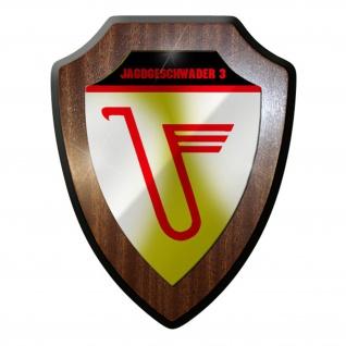 Wappenschild / Wandschild / Wappen - Jagdgeschwader 3 JG Luftwaffe Militär#8323