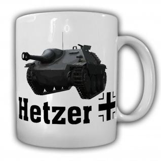 Hetzer Jagdpanzer 38t Panzer Panzerjäger Militär - Tasse #13207