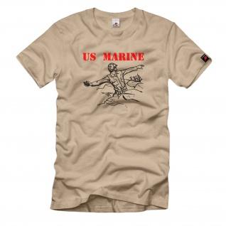 US Marine Soldat Amerika Us Army T-Shirt#109