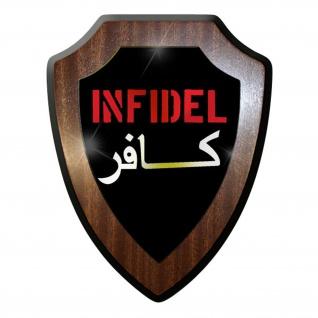 Wappenschild - Infidel Ungläubiger Army Militär Abzeichen Wappen #10192 w