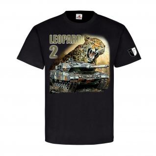 Lukas Wirp Leopard 2 Panzer Leo 2A6 II BW Gemälde Militär Maler T Shirt #23406