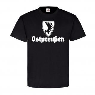 Trakehner Ostpreußen Trakener Wappen Abzeichen Elchschaufel - T Shirt #14095