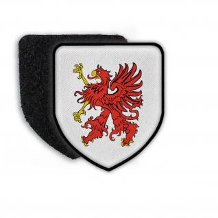 Patch Wappen von Pommern Wappen Aufnäher Land Stadt Deutschland Preußen #21841 - Vorschau