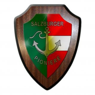 PiB 2 Pionierbataillon Salzburg Bundesheer Austria Wien Wappenschild #19968