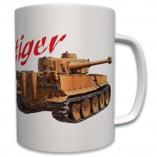 Militär Tiger Panzer Wk Deutschland Legende - Tasse Becher Kaffee #7381