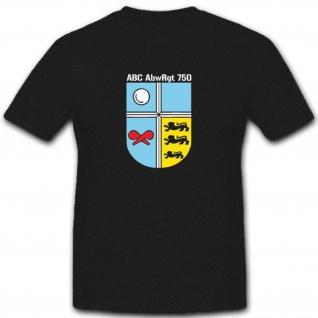 Bundeswehr Abzeichen Deutsche Baden Abc-Abwehrregiment 750 - T Shirt #3806