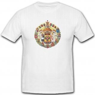 Das Russische Reich Imperium Russisch Wappen Emblem Dichtung - T Shirt #5407