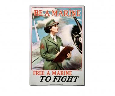 Poster Marines US Army Owi Office Propaganda Plakat ab 30x21cm #31072