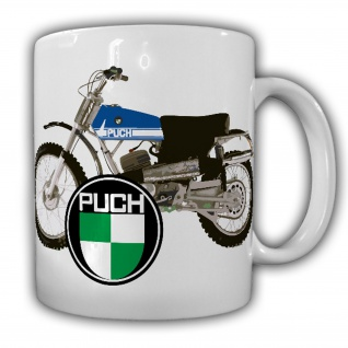 Tasse Puch Motocycle Motocross Motorrad Geländemotorrad Biker Motocross #22261