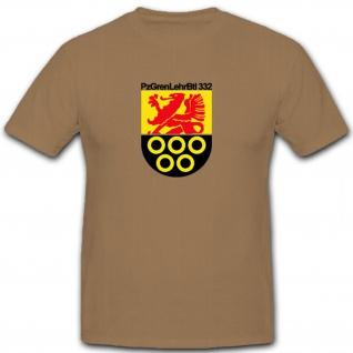 PzGrenLBtl332 Bundeswehr Emblem PanzerGrenadierLehrBataillon- T Shirt #6578