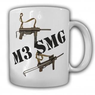 Tasse M3 Maschinenpistole Rückstoßladende Vereinigte Staaten Us Army Deko #16065