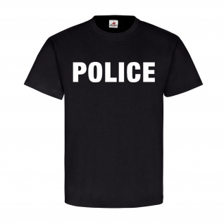Police Polizei Policia Amerika Amarica USA United States NYPD - T Shirt #4615