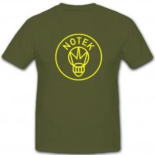 NOTEK Forma Logo Nachtmarsch Ausrüstung Fahrzeuge - T Shirt #4593