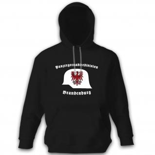 Panzergrenadierdivision Brandenburg PzGrenDiv Stahlhelm - Kapuzenpullover #10575