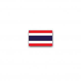 Aufkleber/Sticker Thailand Flagge Königreich Ratcha-Anachak Thai 11x7cm A3032