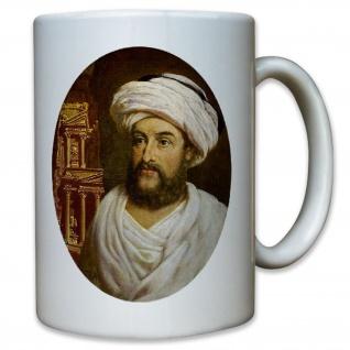 Jean Louis Burckhardt Schweiz schweizer Orientreisender Orient Ibn Tasse #12861