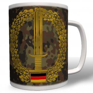 Barettabzeichen Ausbildung Wappen Emblem Einheit Truppe KSK - Tasse Kaffee #1958