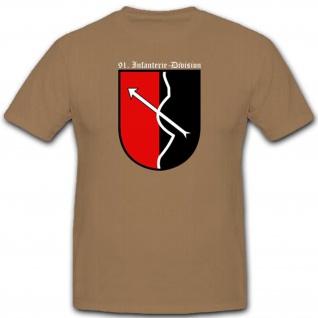 Wh Militär Infantriedivision Einheit WK InfDiv Wappen Abzeichen T Shirt #2644