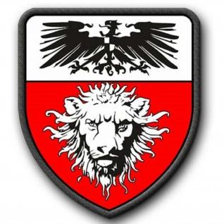 Patch Deutsch Ostafrika deutsche Kolonie Wappen Preußen #2620