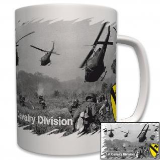 1st Cavalry Division US Vietnam Krieg Nam Foto Militär Armee - Tasse #6222