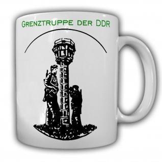 Tasse Grenztruppe der DDR Wachturm Grenze NVA MfNV Republik Wache #32503