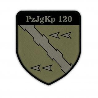 Patch / Aufnäher - PzJgKp 120 Panzerjägerkompanie Bundeswehr Deutschland #14213