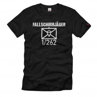 Fallschirmjäger 1-262 FschJgBtl Kompanie Taktisches Zeichen T-Shirt#37410