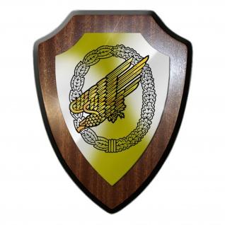 Wappenschild Fallschirmjäger Adler Deutscher Grüner Teufel Kreta Orden - #17333