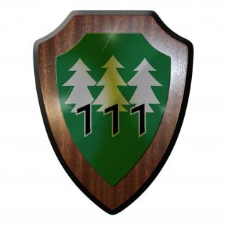 Wappenschild / Wandschild -PzGrenBtl 111 Variante Panzergrenadierbataillon #9621