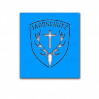 Lackierschablonen Jagdschutz Bundesjagdgesetz Jagdgesetz Bund 16x20cm A5104
