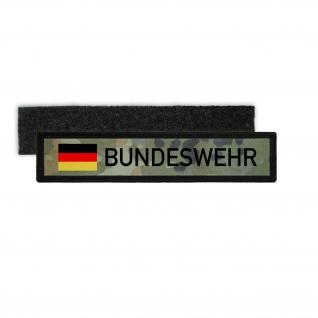 Namenspatch Flecktarn Bundeswehr Uniform KFOR Deutschland Aufnäher #27361