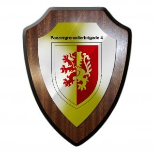 PzGrenBrig 4 brigade Panzergrenadier Bundeswehr Einheit Wappenschild #20023