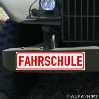 Magnetschild Fahrschule Führerschein Prüfung Theorie Praxis Lizenz Auto A157