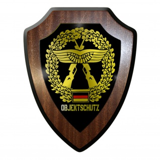 Wappenschild / Wandschild / Wappen -Objektschutz Bundeswehr Staffel #7971
