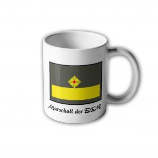 NVA UTV Marschall der DDR Tasse Dienstabzeichen Felddienstbekleidung #30523
