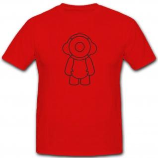 Speakerboy Lautsprecher Boxen Kopfhörer Sound Junge Fun Humor T Shirt #2174