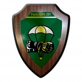 Wappenschild FschJgBtl 251 Calw Fallschirmjägerbataillon Calw BW Wappen #16366