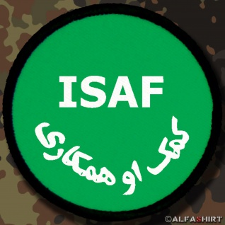 Patch / Aufnäher - ISAF International Security Assistance Force #7140
