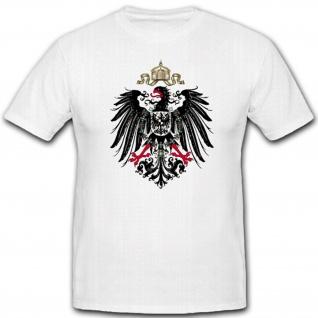 Preußischer Adler Wappen Preussen Hoheitszeichen Abzeichen - T Shirt #2217