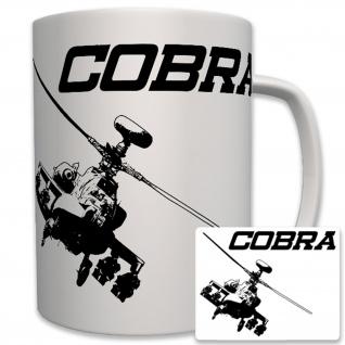 Cobra Helikopter Kampfhubschrauber Us Army Amerika USA - Tasse Becher #6274