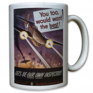 Want The Best Waffen Produktion Waffenproduktion Amerika USA - Tasse #11605
