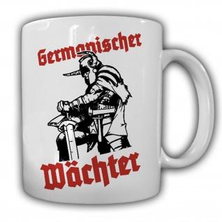 Germanischer Wächter Germanen Wikinger Heimdall nordische Götter Tasse #16028